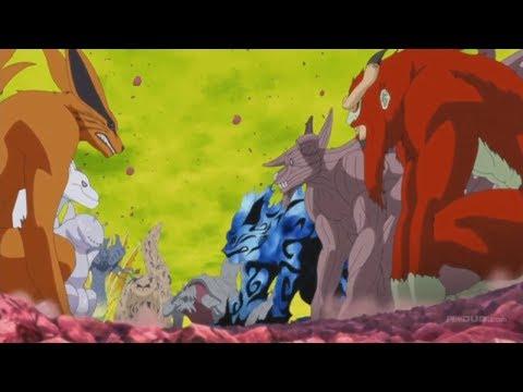 Запечатывание Кагуи / Последняя миссия команды №7 / Спасение мира шиноби