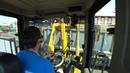 Работа на фронтальном погрузчике LW300