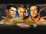 (WWE Mania) WrestleMania XXVI Randy Orton vs. Ted DiBiase vs. Cody Rhodes