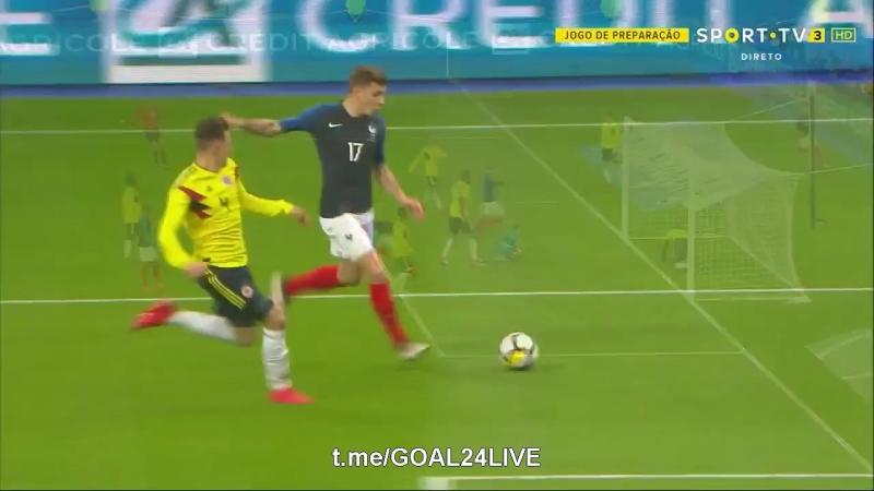 ⚽️ Франция 1:0 Колумбия | Гол Жиру