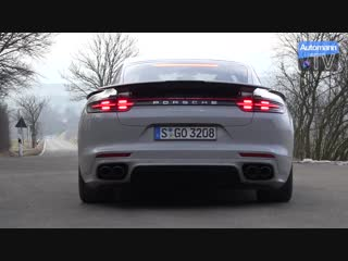 2018 Porsche Panamera Turbo (550hp) - pure SOUND (60FPS)