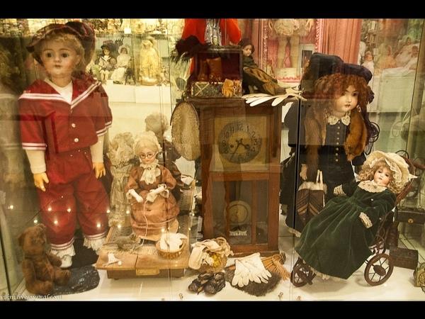 Kunstkammer Vintage toy - Harpist 1880s