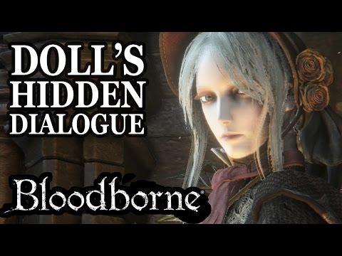 Bloodborne Doll's Hidden Dialogue No Spoilers