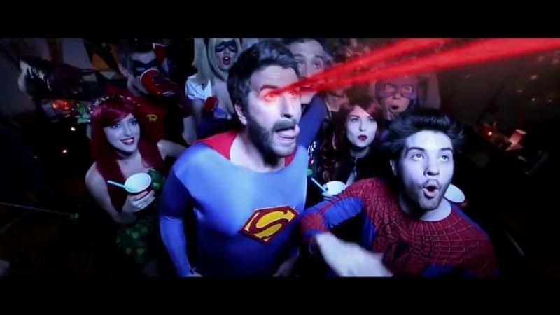 Супергеройское похмелье - The Superheroes Hangover (Not Vine)