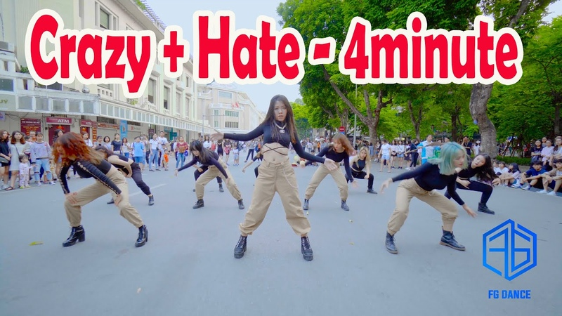 [ KPOP PUBLIC CHALLENGE ] 4MINUTE(포미닛) - Hate (싫어) Crazy (미쳐) Dance Cover @FGDance from Vietnam