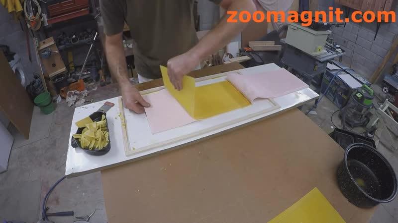 Силиконовая форма для изготовления вощины.