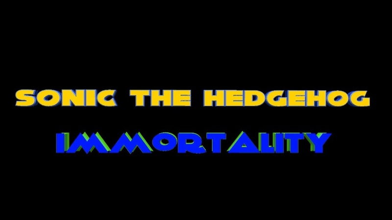 Sonic the Hedgehog Immortality - третий тизер