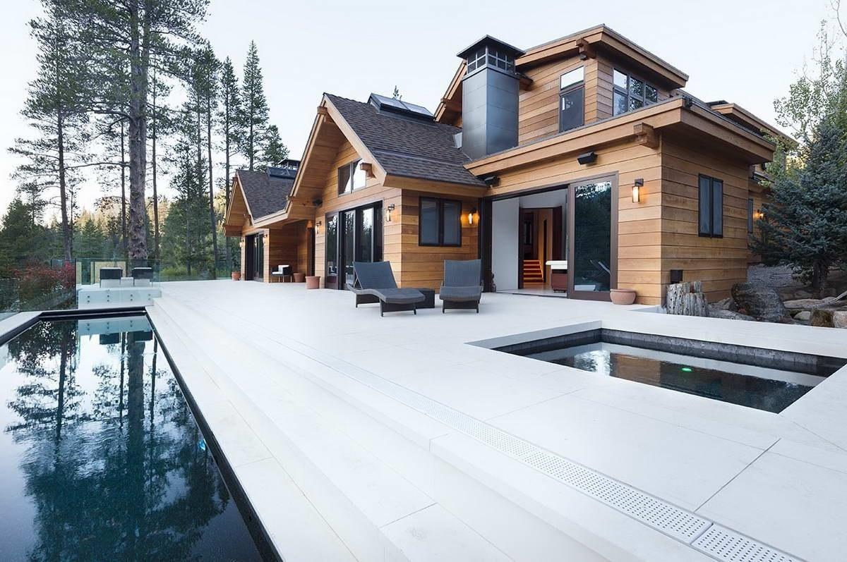 Современный дизайн территории у дома