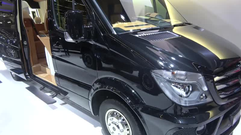 Brabus Sprinter Business Lounge perfect for GTBOARD.com conferences! ) [4k]