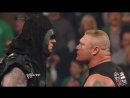 Brock Lesnar is surprised by the return of The Undertaker_ Raw, Feb. 24, 2014