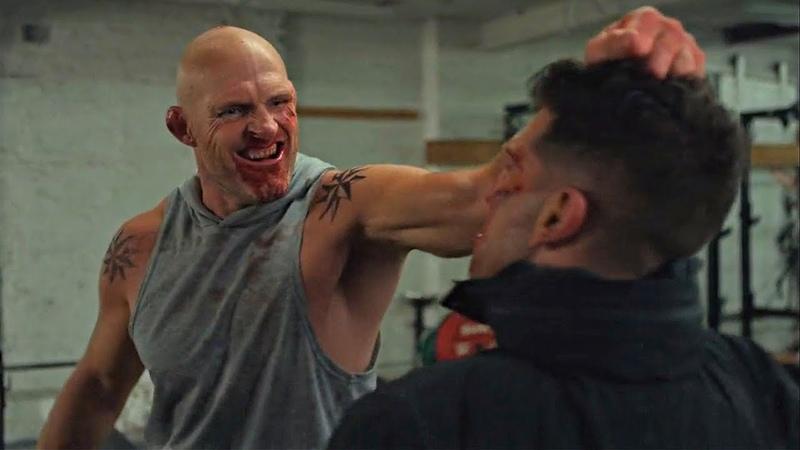 Russian Gym Fight [Punisher Season 2 Scene] 2x05 Netflix (HD)