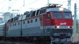 ЧС7-004 с поездом №132Г Ижевск Санкт Петербург