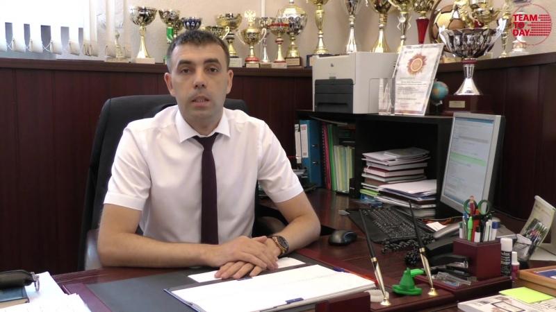 Поздравление руководителя ИМЭ имени В.П. Горячкина Ю.В. Катаева