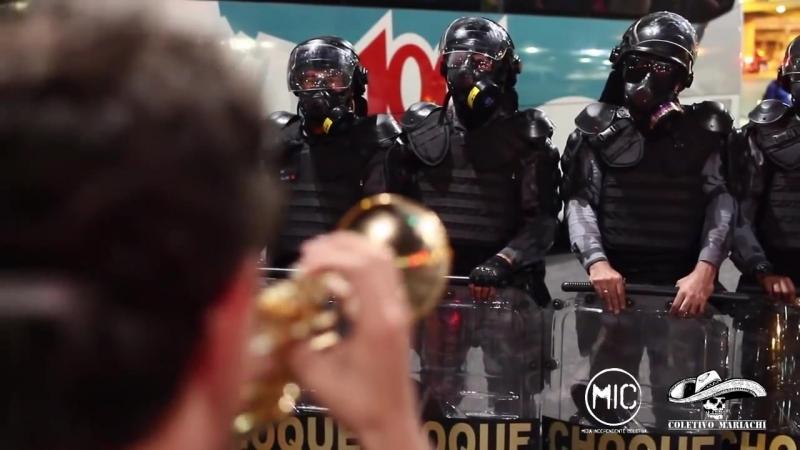Repressão policial a manifestação gera revolta durante jogo da Copa no Maracanã - RJ