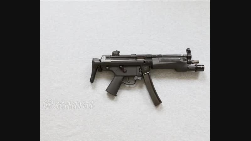 Обвесы на швейцарский самозарядный клон MP5