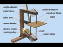 Assembly Animation My DIY Bandsaw using autodesk inventor animasi proses merakit gergaji bandsaw