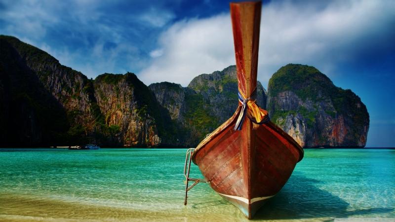 Тайланд. Острова Пхи Пхи (Ko Phi Phi Islands, Thailand)