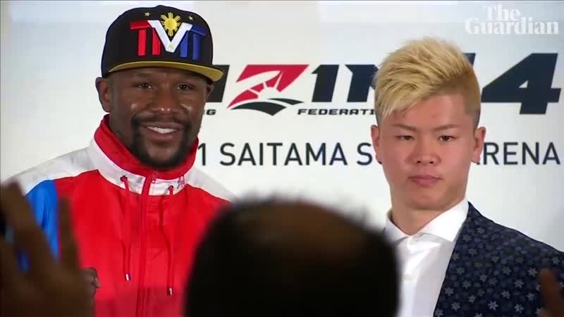 Floyd Mayweather to fight Japanese kickboxing sensation on New Year's Eve