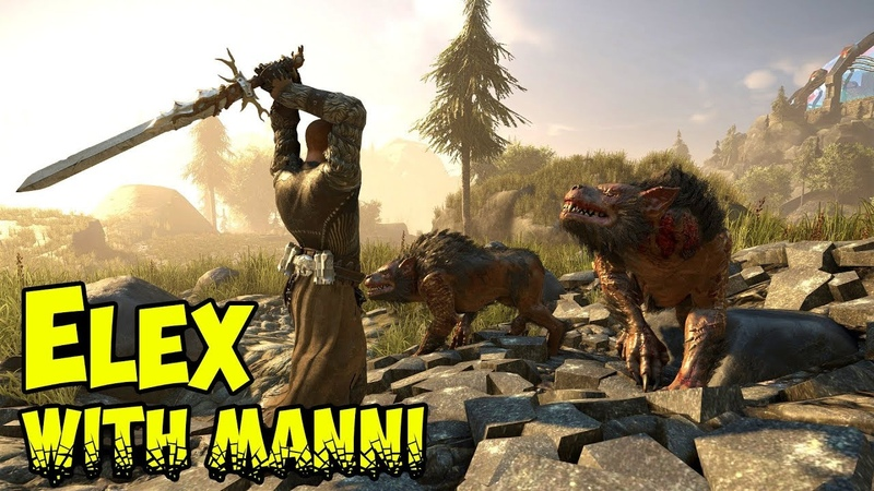 Lets Play ELEX Gameplay - Heres My Sword - Manni-Gaming