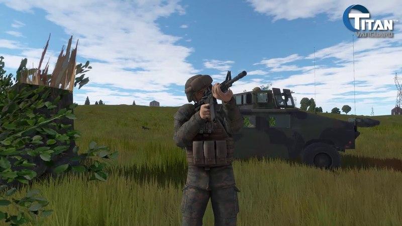 Titan Vanguard - combat/FPS scenario