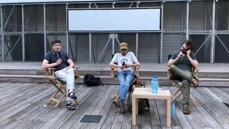 Pioner Talks: «Она развалилась» в Летнем Пионере в Парке Сокольники