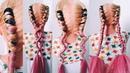 🔝ТОП🔝 КОСА КНУТ с КАНЕКАЛОНОМ ЛЕТНИЕ ПРИЧЕСКИ Whip Braids Summer Hairstyles