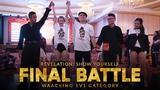 Danzel vs Charcoal Waacking 1v1 Final Battle Revelation Show Yourself 2018 Klang, Malaysia