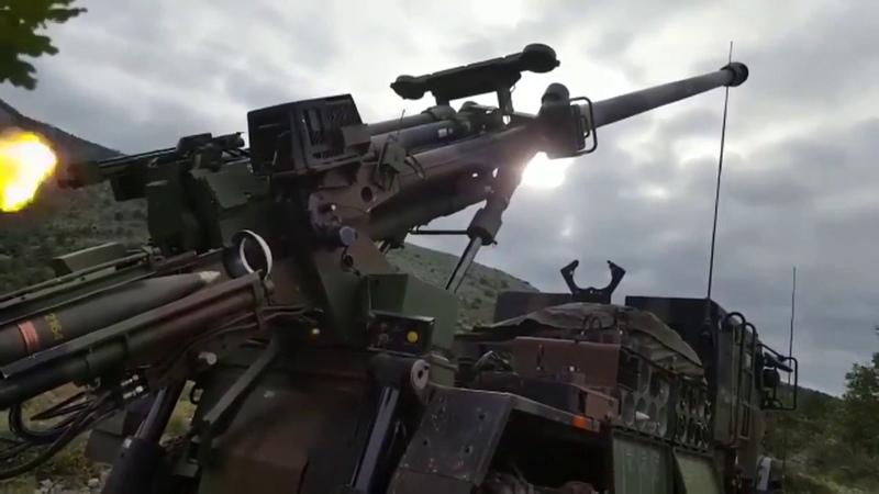 Nexter Caesar 68e régiment d'artillerie d'Afrique смотреть онлайн без регистрации