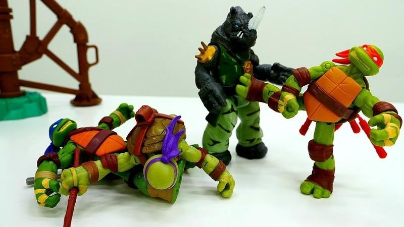 Ninja Kaplumbağalar oyunu. Erkek çocuk oyuncakları