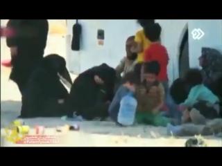 ببینید وقتی رزمندگان فاطمیون غذای خود را به خانواده تروریست های داعش میدهند! - - برشی از مستند سایه_نابودی - کاری از مرکز رسانه