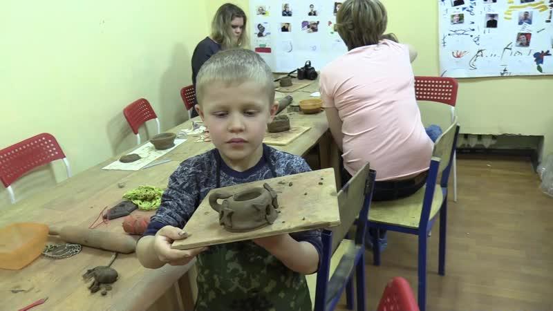 Живопись и глина в Ярославле Школа искусств Кудесы