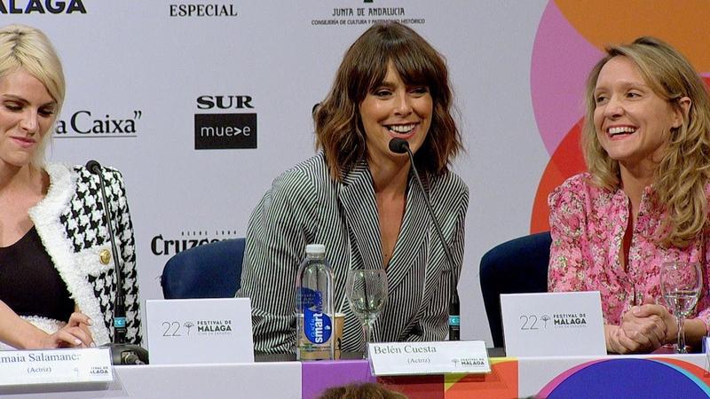 Rueda de prensa A pesar de todo | 22 Festival de Málaga. Cine en español