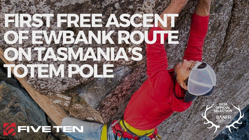Five Ten 2016 | Sonnie Trotter | First free ascent of Ewbank Route on Tasmania's Totem Pole