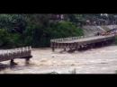 Tempête Alberto Cuba 28.05.2018 - Un pont s'effondre à Taguasco par miracle 2 ados échappent in extremis à la mort