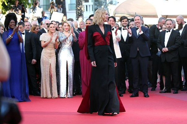 Канны-2018: Ольга Куриленко, Кейт Бланшетт, Кристен Стюарт и другие на красной дорожке церемонии закрытия фестиваля