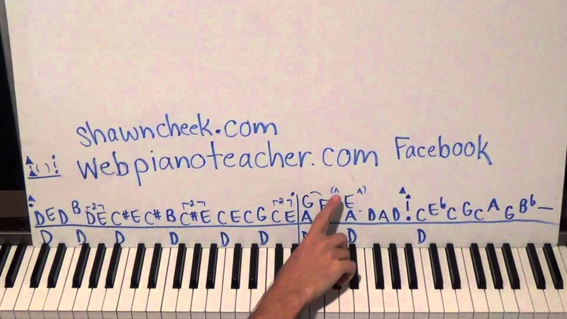 Piano Lesson Wicked Little Town Tutorial The 6th Hired Request On My List