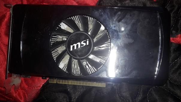 Видеокарта N550TI-1GD5