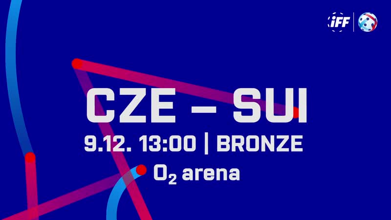 2018 Men's WFC - Bronze - CZE v SUI