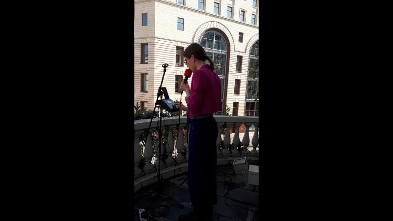 Анна Лукшина - Ой мальчишечка, да бедняжечка. Фестиваль «Московская весна А CAPPELLA» 2018