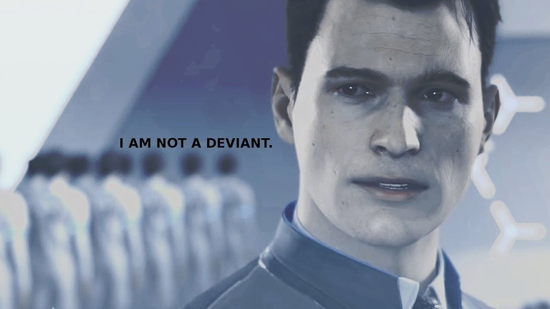 Connor/RK800 • Im not a deviant [Not yet]