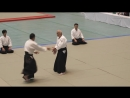 Сихан Хироси Изояма, 8 дан, поразительно как он смог выступить с прооперированными бедрами и коленями.