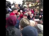 Видео с митинга