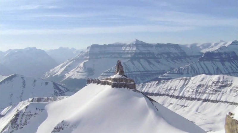 Enya - Boadicea (Snowy Mountains Clouds Video) HD