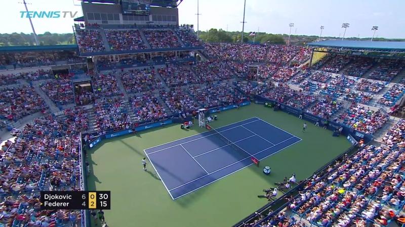 Novak Djokovic vs Roger Federer Cincinnati 2018 Final