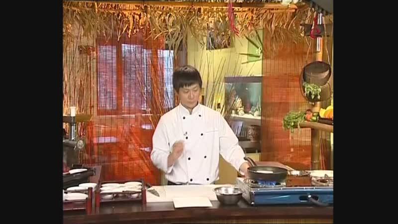Телекафе. Кухни мира. Вьетнамская. Суп Фо бо, Блинчики Нэм, Салат Ном бо тай