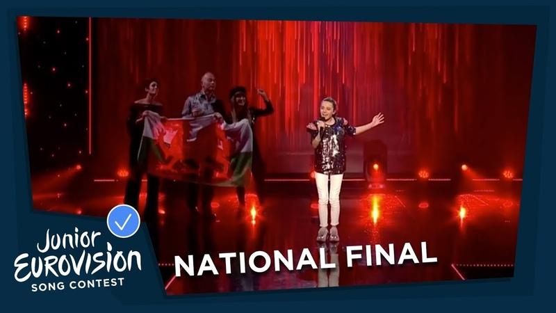 Manw Berta Wales National Final Performance Junior Eurovision 2018
