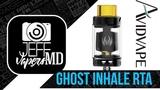 Ghost Inhale RTA 3.5ml l by Avidvape l from Heavengifts l Full HD Review l Обзор