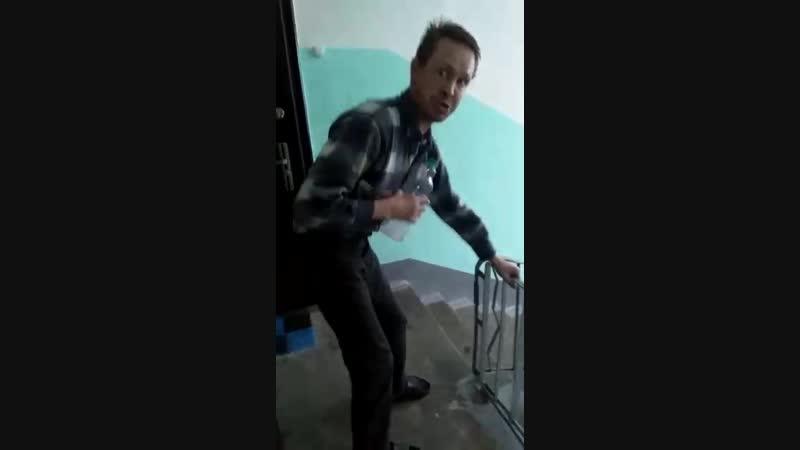 Соседа ебашит не по детский