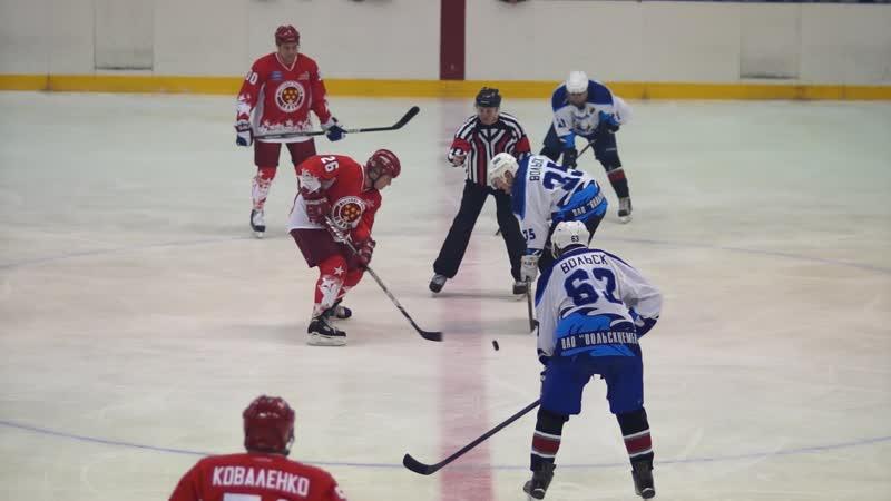 Легенды советского хоккея в Балакове. 2016