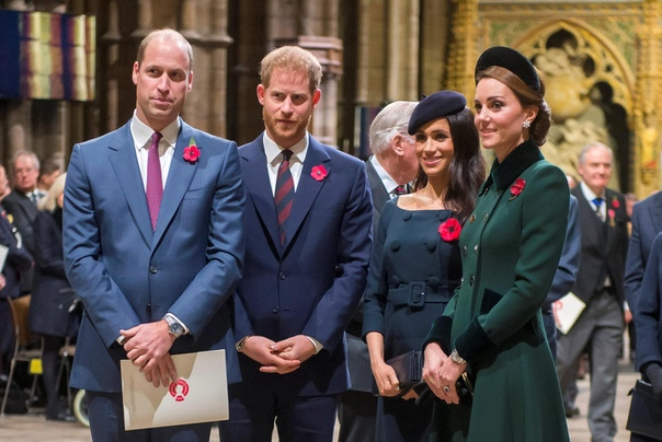 Королевская семья прокомментировала слухи о вражде Кейт Миддлтон и Меган Маркл